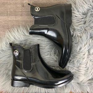 Michael Kors MK Charm Rainbootie Chelsea Rain Boot